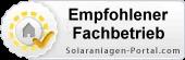 empfohlener Fachbetrieb von Solar-Portal.com